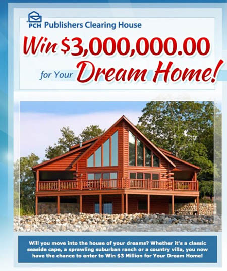 Win $3,000,000 for Your Dream Home